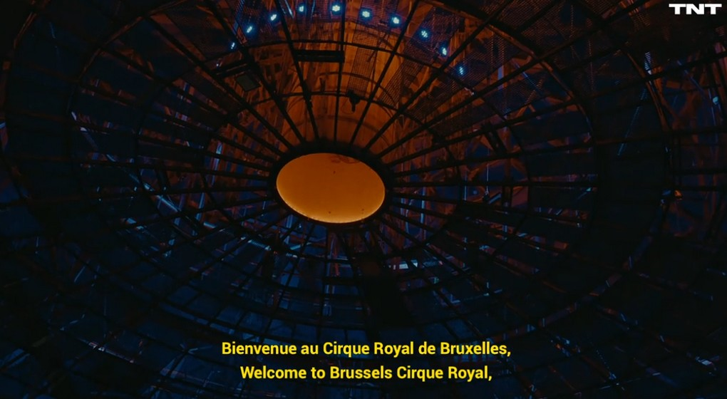 Toit Cirque Royal de Bruxelles - Vidéo Coulisses Facebook