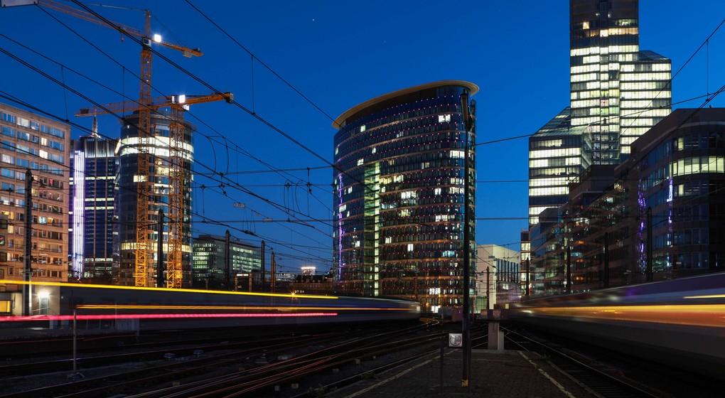 Train Nuit Gare de Bruxelles-Nord - Belga Paul-Henri Verlooy