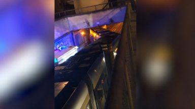 Schaerbeek : un tram a déraillé sur la rue du Progrès sans faire de blessé
