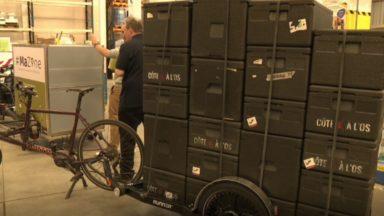 Cairgo Bike : 4,7 millions d'euros de fonds européens pour développer le vélo-cargo à Bruxelles