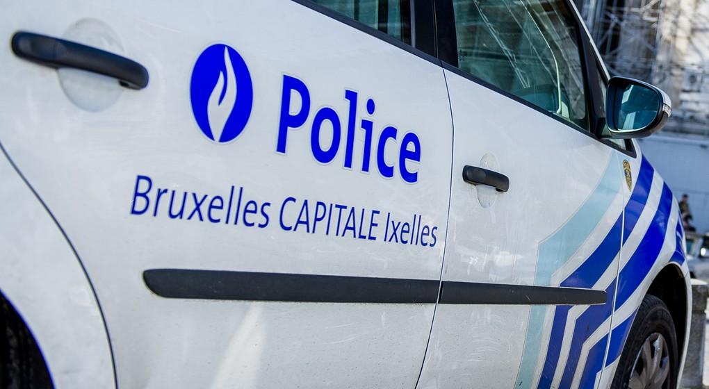 Voiture de police Zone Bruxelles Capitale Ixelles - Belga Laurie Dieffembacq