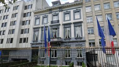 Manifestation à Bruxelles contre le remaniement dit 'sexiste' du gouvernement français
