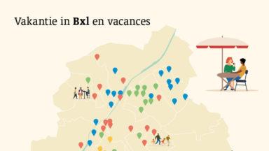 Bruxelles se met en mode vacances dans l'espace public grâce à 46 projets
