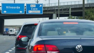 La Flandre va revoir entièrement l'échangeur entre le ring et l'A201 vers Brussels Airport