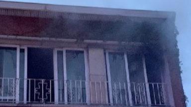 Berchem-Sainte-Agathe : les pompiers de Bruxelles sauvent un homme d'un incendie