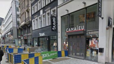 Le personnel des magasins belges de Camaieu en grève lundi