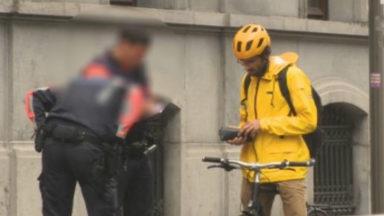 La police verbalise de plus en plus les cyclistes