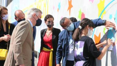 """BOZAR : la fresque """"Diversity is Power"""" inaugurée par le Roi"""