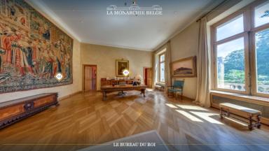 Le Palais Royal de Bruxelles se dévoile sous forme de visite virtuelle