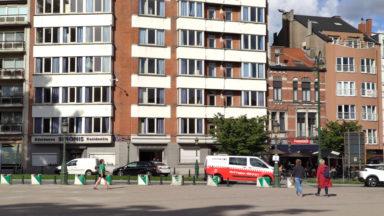 Sans papiers : tentative avortée pour installer une nouvelle occupation à Koekelberg