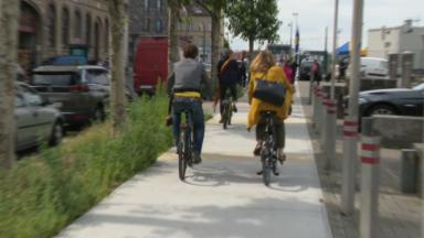 Mobilité : nouvelle piste cyclo-piétonne inaugurée à Molenbeek