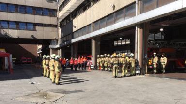 Unia alerté de faits racistes au sein des pompiers bruxellois