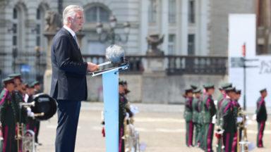 Le roi Philippe salue le personnel soignant, l'armée et ceux qui ont contribué au vivre-ensemble
