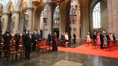 Fête nationale : le Te Deum en comité restreint en la cathédrale des Saints Michel-et-Gudule
