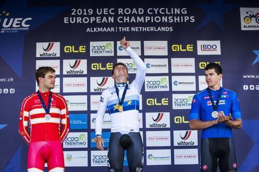 Campenaerts et Evenepoel dans le contre-la-montre — Euro de cyclisme