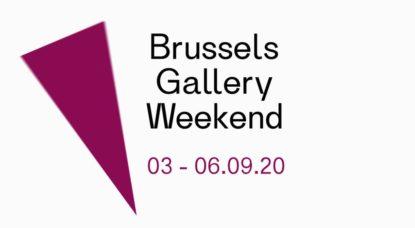 Affiche Brussels Gallery Weekend 2020