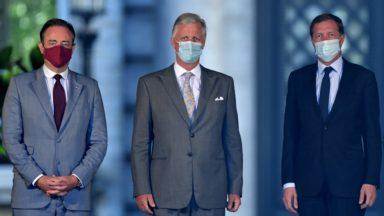 Formation fédérale : Bart De Wever et Paul Magnette présentent leur démission, le Roi consulte