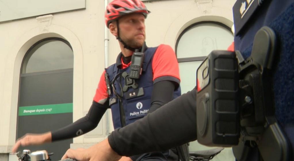 Bodycam Police Policiers Zone Marlow Test - Capture BX1