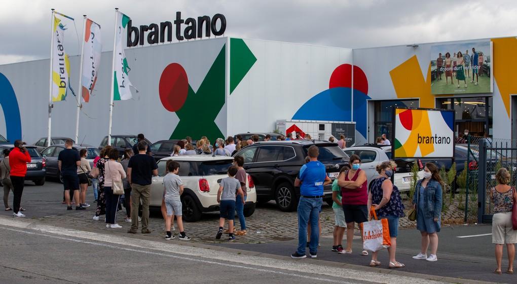 Brantano Liquidation Files Magasin - Belga Nicolas Maeterlinck