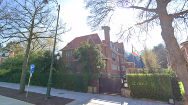 Un hommage rendu devant l'ambassade du Liban avenue Franklin Roosevelt