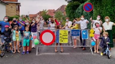 Woluwe-Saint-Pierre inaugure sa première rue aux jeux et lance un appel à projet