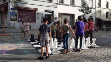 """Plus de 40 associations ont participé à l'opération """"Bruxelles en vacances"""""""