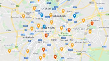 Covid-19 : où et dans quelles conditions se faire dépister à Bruxelles ? (Carte interactive)