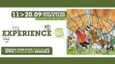 La Fête de la BD se transforme en Expérience BD, du 11 au 20 septembre à Tour & Taxis