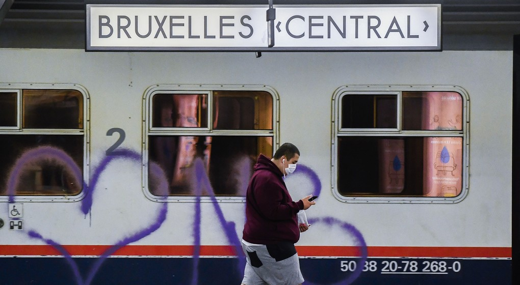 Gare Bruxelles Central SNCB - Belga Laurie Dieffembacq