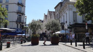 Ville de Bruxelles : la place sainte-Catherine devient piétonne