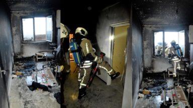 Molenbeek : incendie au 27e étage d'un immeuble boulevard Mettewie