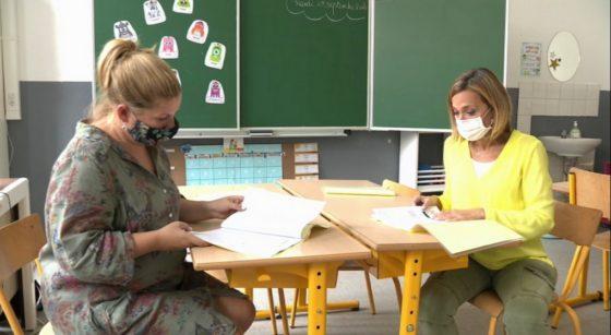 Institutrices primaire école Charles Bruls - Capture BX1
