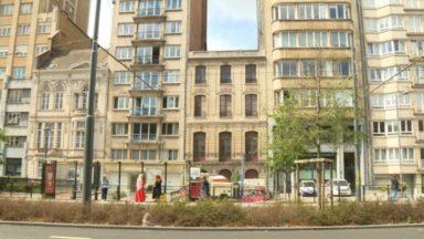 Ixelles : un jardin suspendu s'annonce sur une maison du boulevard Général Jacques