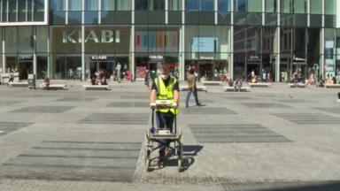 Mobilité : une machine pour ausculter la qualité des trottoirs bruxellois