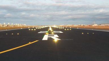 Brussels Airport : la rénovation de la piste 07L/25R se termine ce week-end