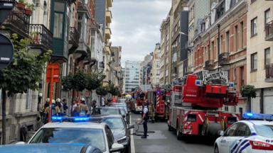 Une personne brûlée aux mains et aux bras dans un incendie rue Tenbosch à Ixelles