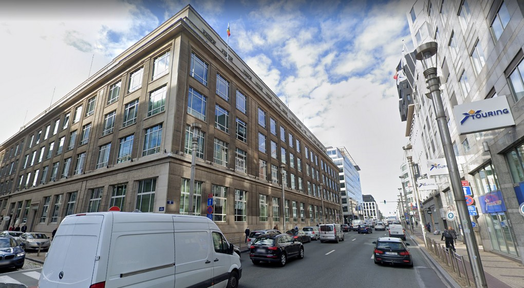 Siège Petrofina Rue de la Loi - Google Street View