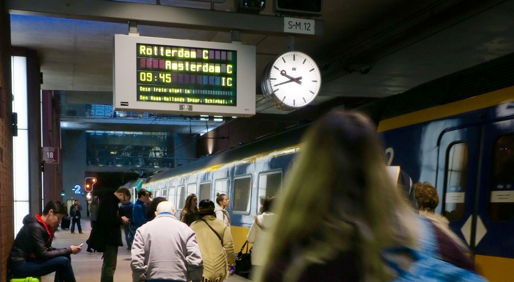 Train Amsterdam SNCB NS - Belga Philippe Francois