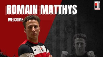 Transfert Romain Mathys RWDM