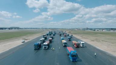 Les travaux de rénovation de la piste principale de Brussels Airport bientôt terminés (vidéo)