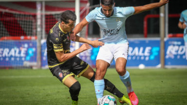 Football : Mouscron chute face à l'Union Saint-Gilloise
