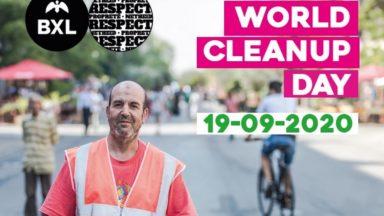 World Cleanup Day : rencontrer et accompagner une tournée de nettoyage à Bruxelles