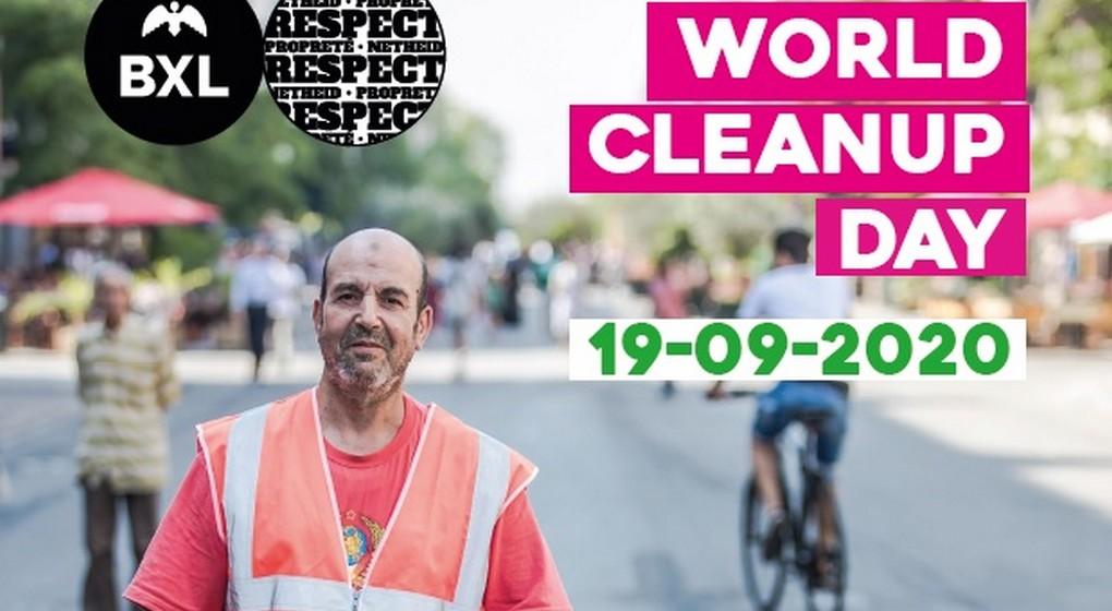World Clean Up Day Service Propreté - Ville de Bruxelles