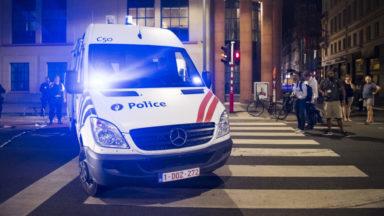 Couvre-feu : un homme tente de renverser un policier près de Bruxelles-Nord pour éviter un contrôle