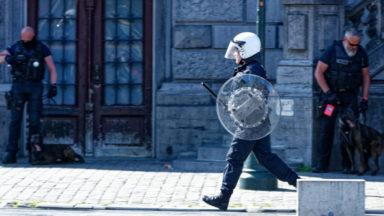Saint-Gilles : une centaine de personnes mobilisées contre les violences policières