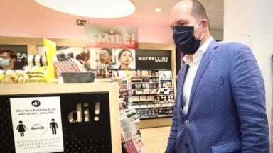 Coronavirus: Philippe Close plaide pour des centres de tests à Zaventem et dans les gares