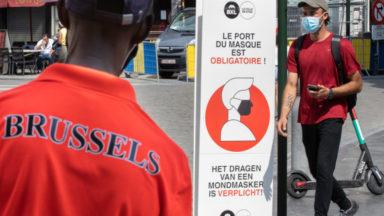 Coronavirus : le port du masque devient obligatoire dans les 19 communes bruxelloises