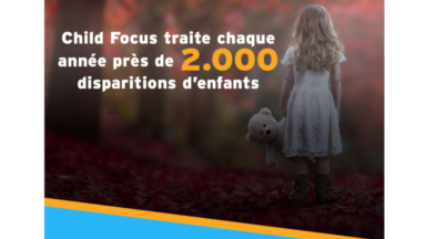 Child Focus lance l'application ChildRescue pour retrouver plus rapidement les enfants disparus