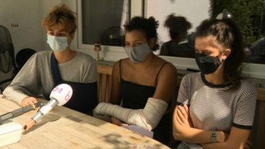 Saint-Gilles : les trois jeunes femmes portent plainte auprès du Comité P