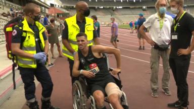 Championnats de Belgique : fin de saison pour Kevin Borlée, Camille Laus en or sur 400m